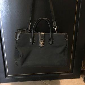 Dooney Bourke vintage handbag purse bag blue navy